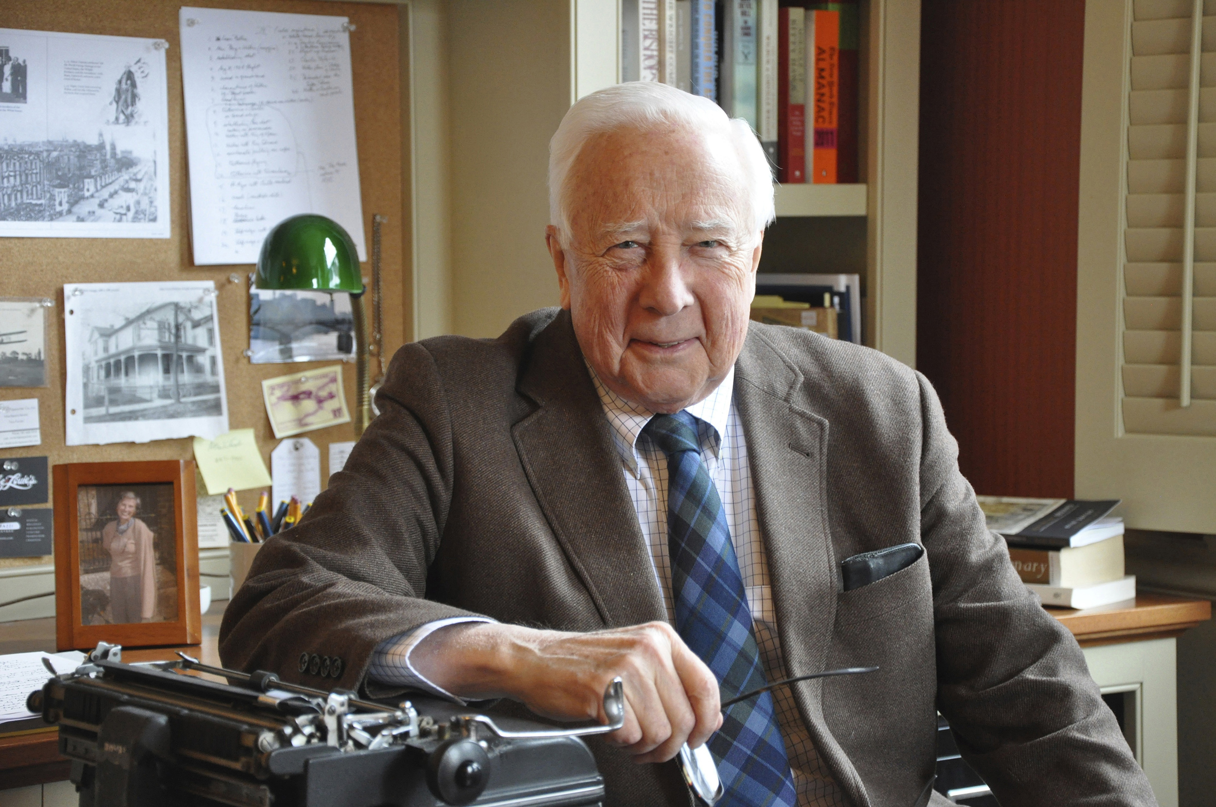 David McCullough photographed by William B. McCullough