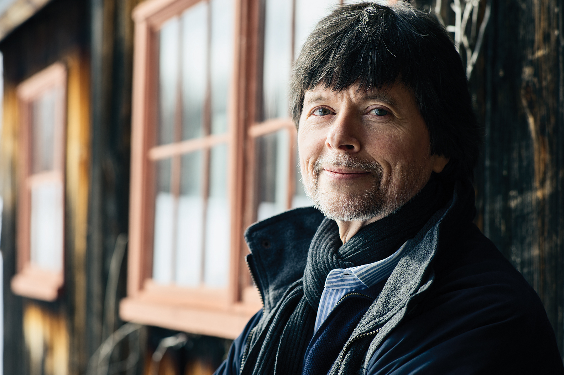 Ken Burns photographed by Tim Llewellyn