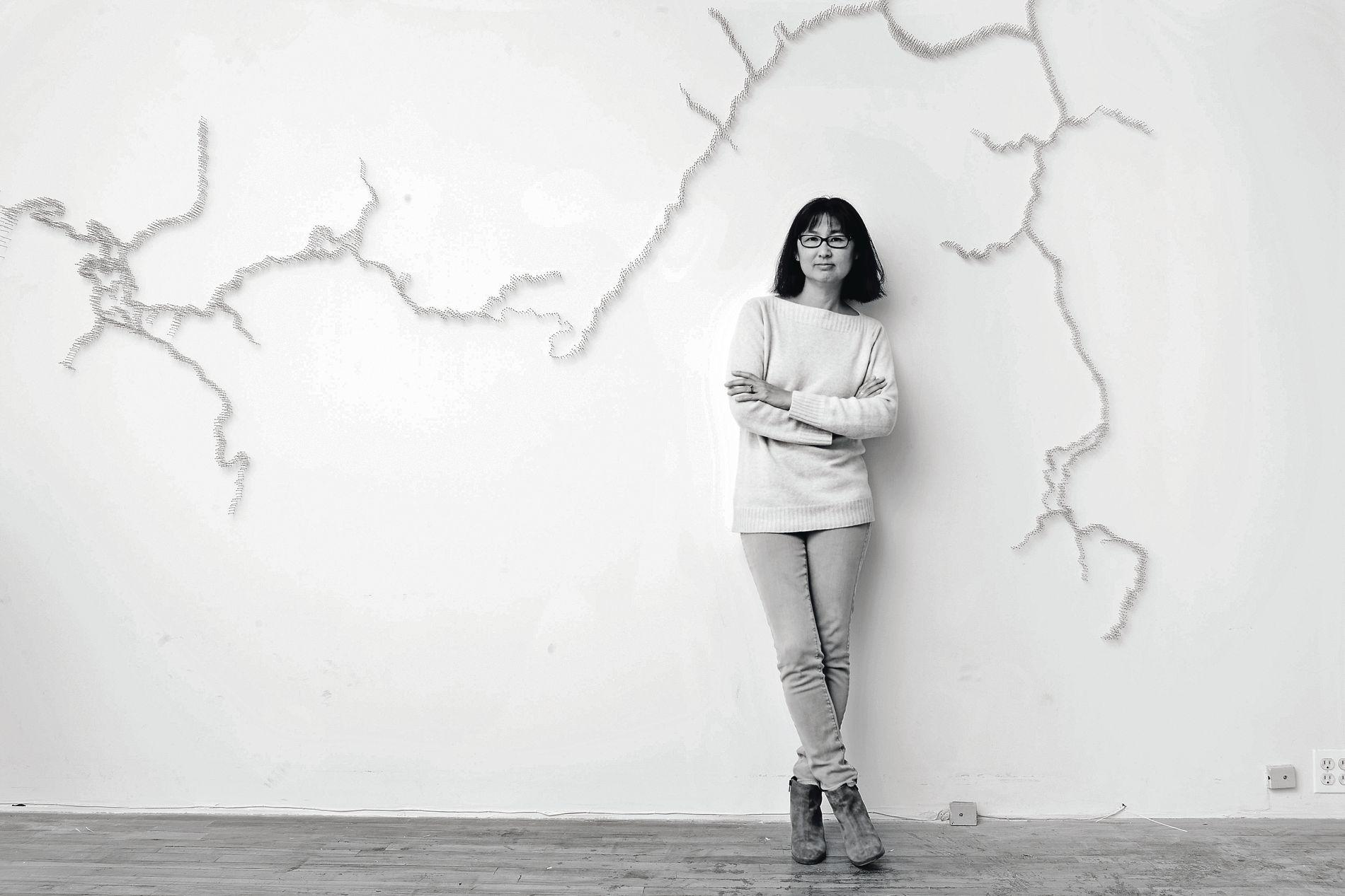 Maya Lin photographed by Jesse Frohman